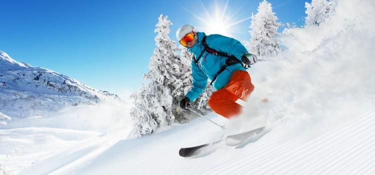 Skifahren am Jenner