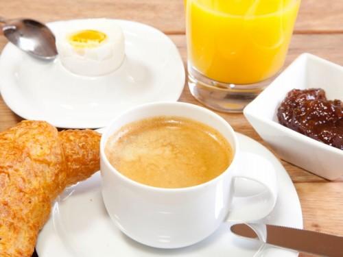Frühstück im Gästehaus Hirschau